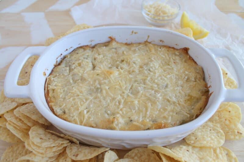 baked atrichoke dip