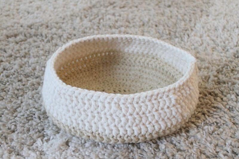 crochet dog bed pattern