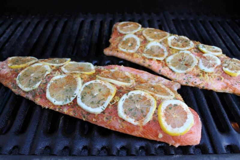 lemon bbq salmon