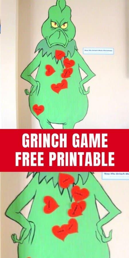 Grinch Game Printable
