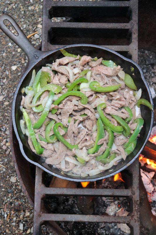 skillet philly cheesesteak recipe