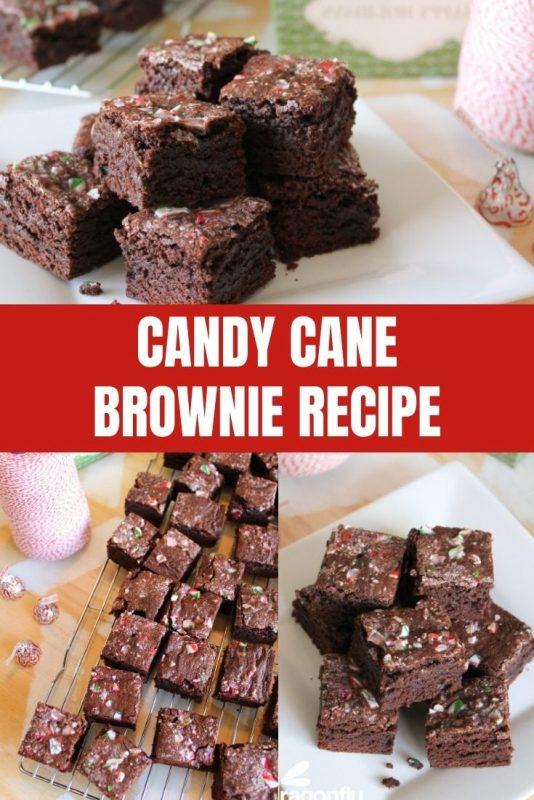 candy cane brownie recipe