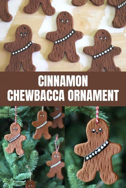 cinnamon chewbacca ornament craft
