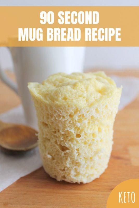 keto second mug bread recipe