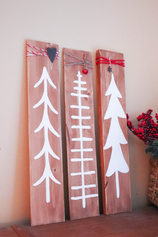 wooden tree signs craft