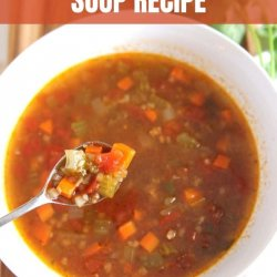 yummy hamburger soup recipe