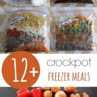 Crockpot Freezer Meals x