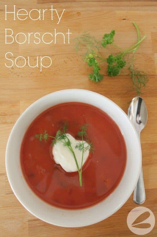 Hearty Borscht Soup Recipe x