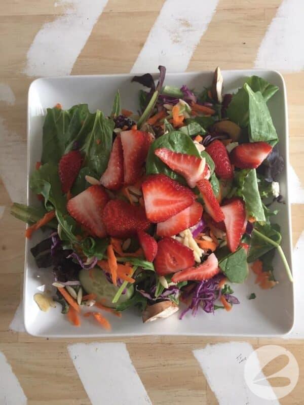 Salad In A Jar x