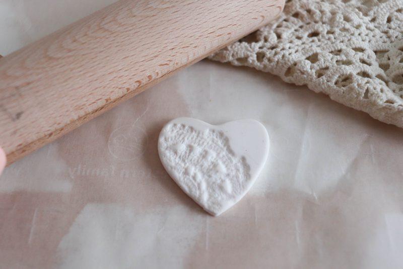 clay heart craft