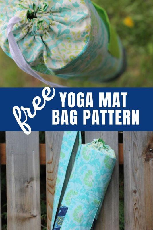 free yoga mat bag tutorial