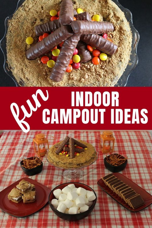 indoor campout ideas