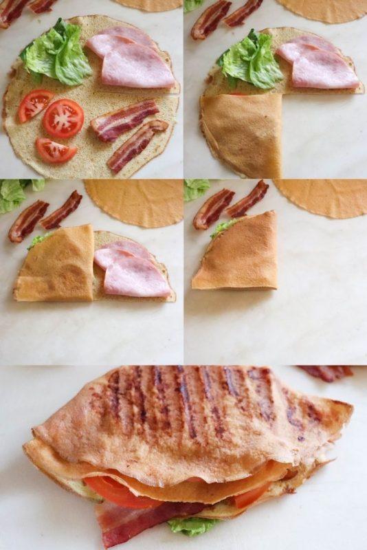 keto tiktok tortilla wrap recipe