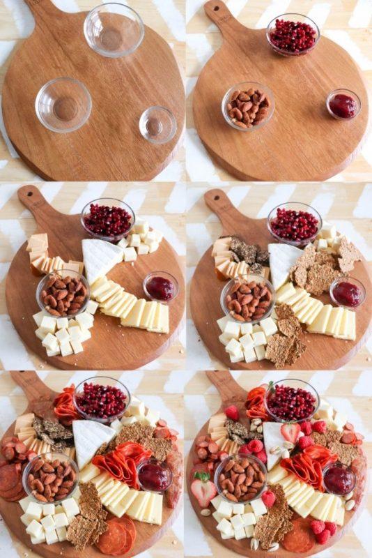 keto valentines charcuterie board recipe