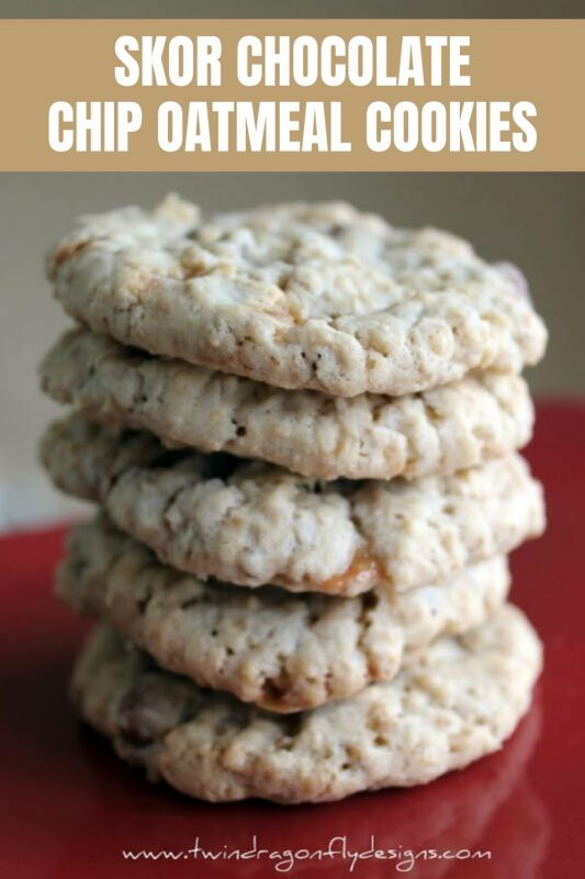 skor chocolate chip oatmeal cookies