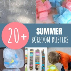 summer boredom busters