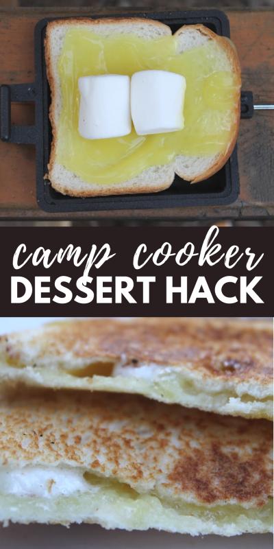 camp cooker dessert hack