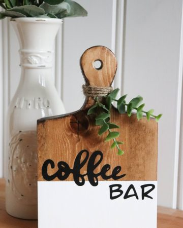 coffee bar sign svg