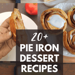 pie iron dessert recipes