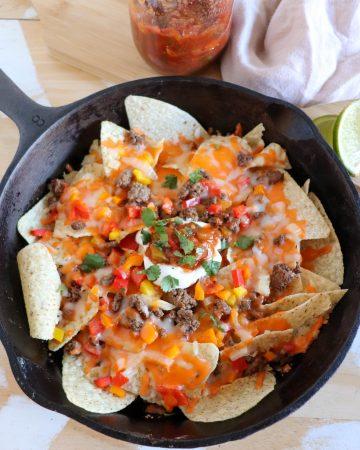 skillet nacho recipe