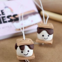 clay smore ornament craft