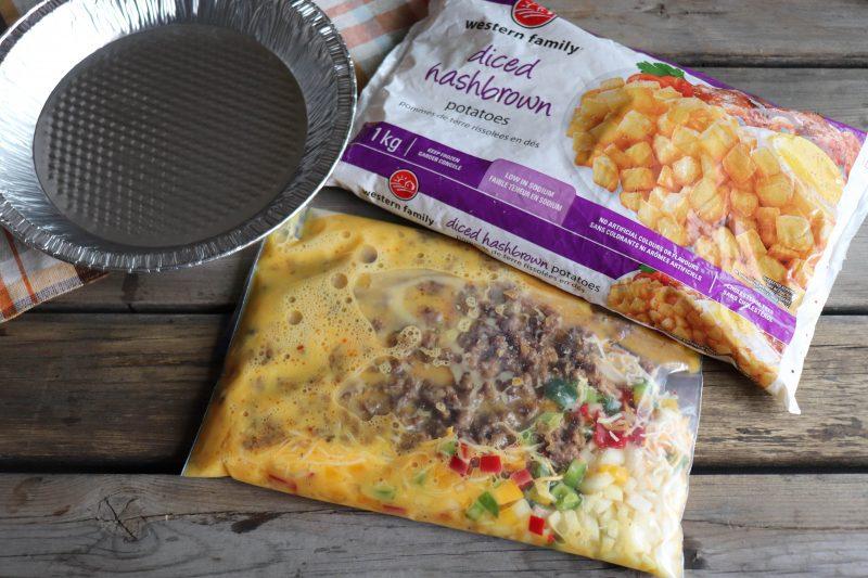 foil packet breakfast bake