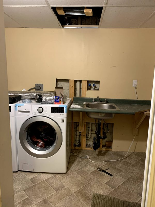 Laundry room disaster