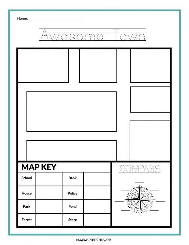 map printables