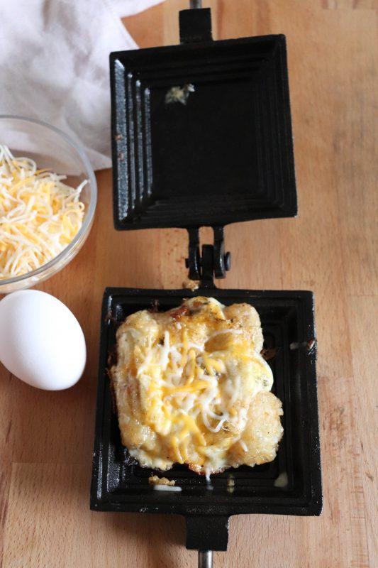 camp cooker breakfast bake