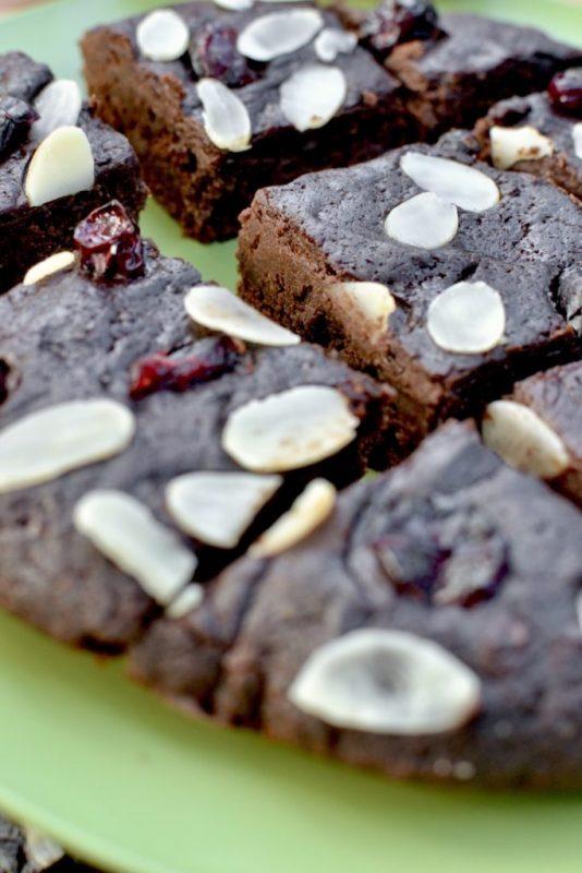 vegan skillet brownie x