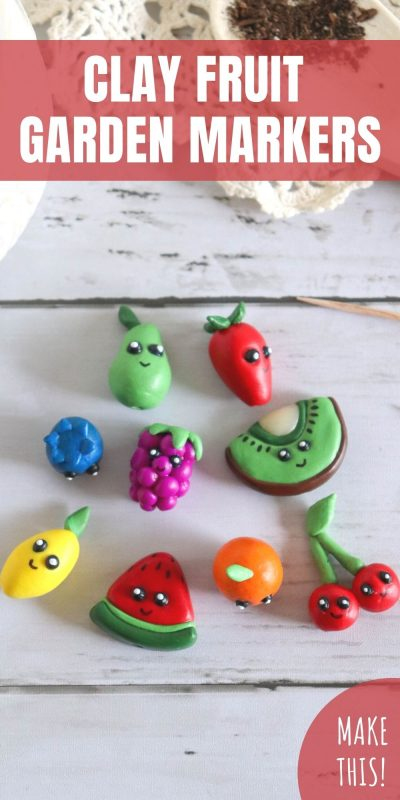 clay fruit craft
