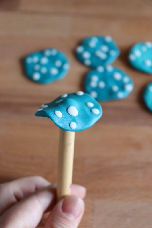 polymer clay mushrooms