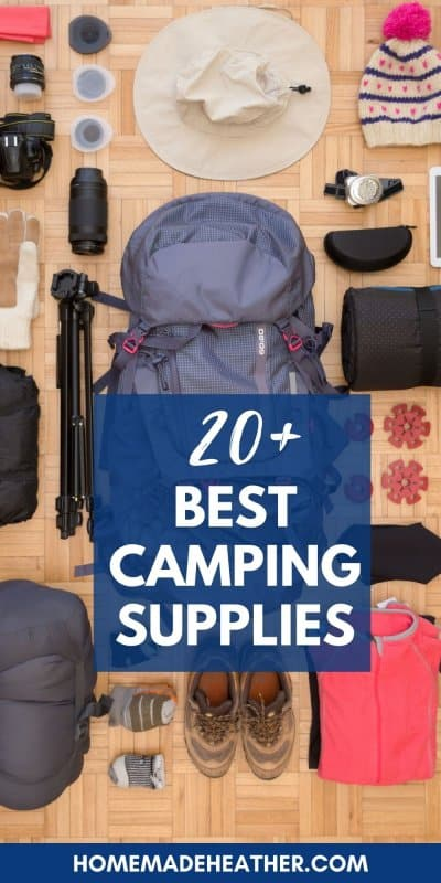 best camping supplies for families