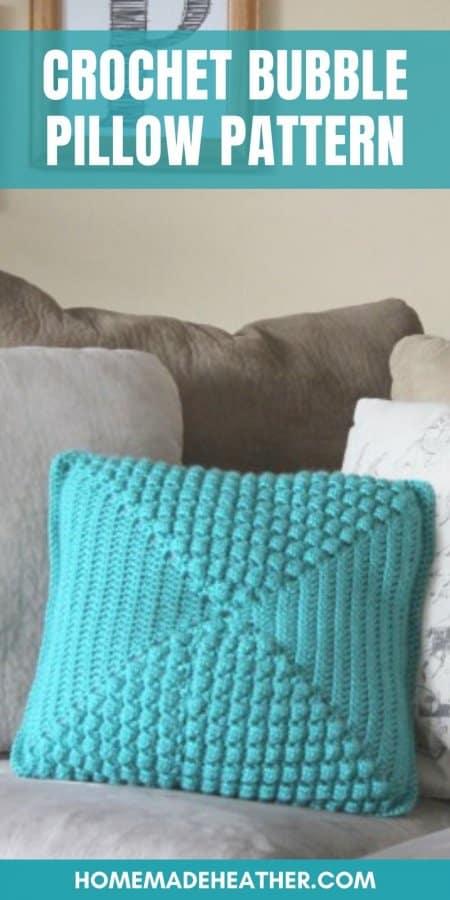 Crochet Bubble Pillow Pattern