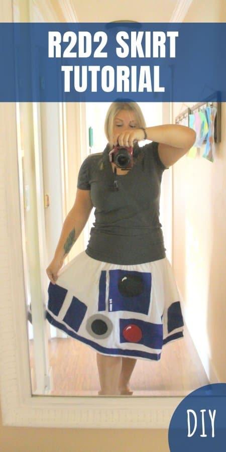 R2D2 Skirt Tutorial