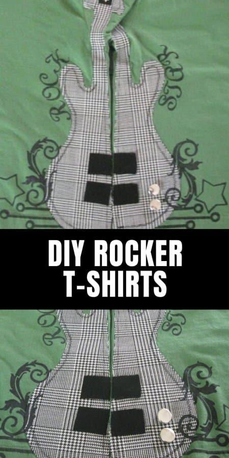 DIY Rocker T-shirts