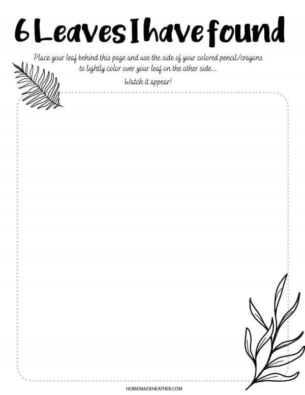 Free Nature Journal Printable
