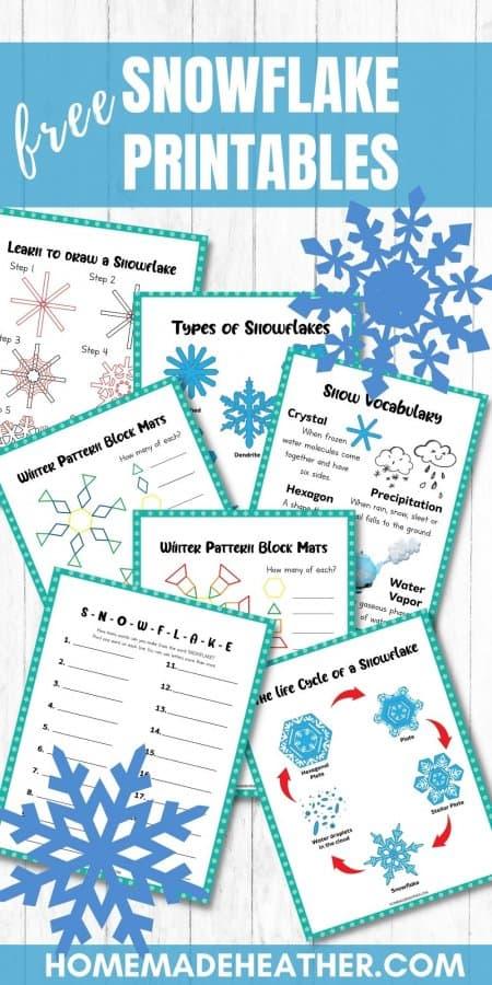 Free Snowflake Activity Printables