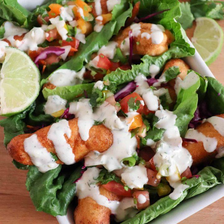 Easy Keto Fish Taco Recipe