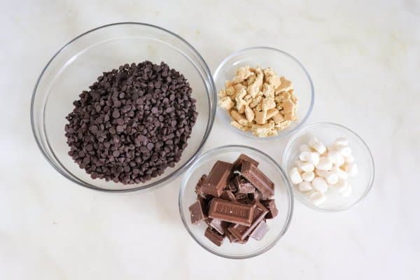 The Best S'mores Bark Ingredients