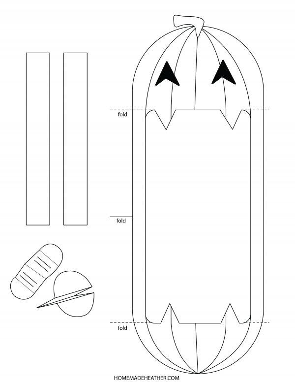 Pumpkin Puppet Printable