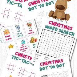 Free Christmas Game Printables