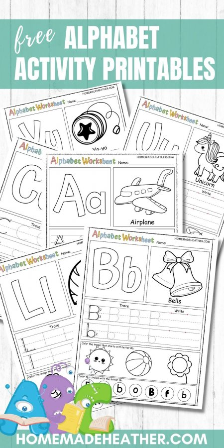Free Alphabet Activity Printables