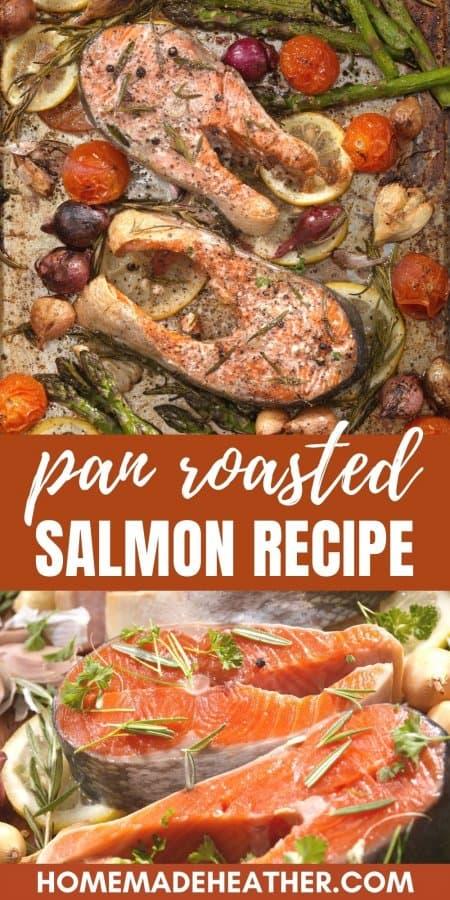 Pan Roasted Salmon Recipe
