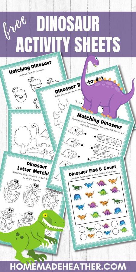 Free Dinosaur Activity Printables
