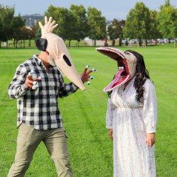 Adam & Barbara Maitland DIY Costumes