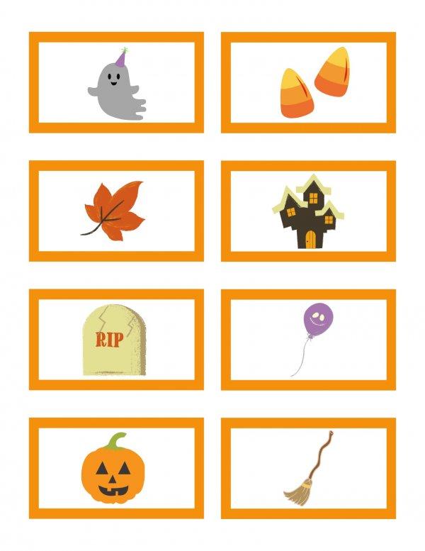 Free Halloween Bingo Calling Card