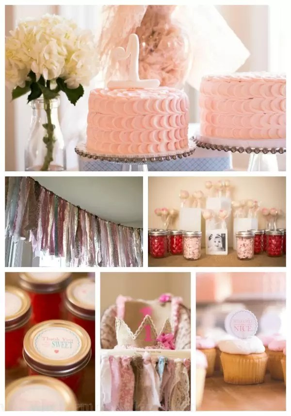 Sugar and Spice and everything nice is such a fun birthday or baby shower theme! Decorate for a shabby chic party with a few of these simple ideas.
