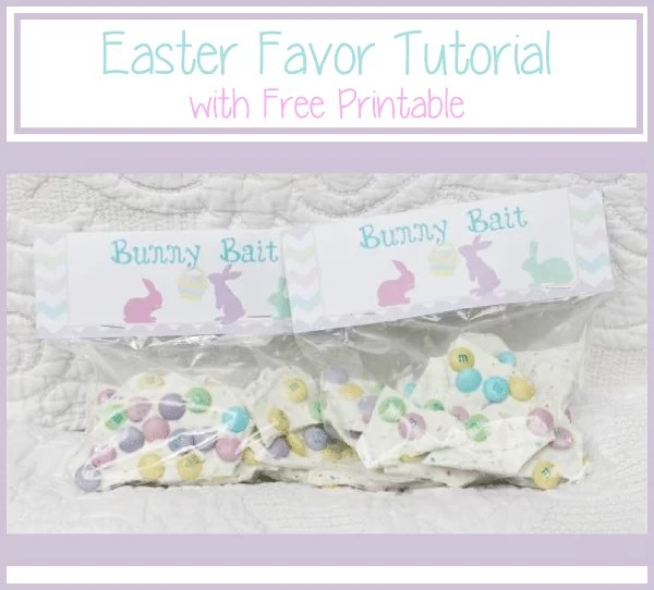Easy Easter Favor and Easter Printable Giveaway {www.homemadeinterest.com}