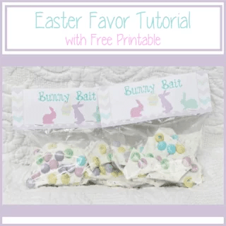 Easter Favor Bunny Bait {www.homemadeinterest.com}